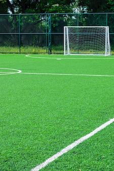Campo da calcio in erba artificiale