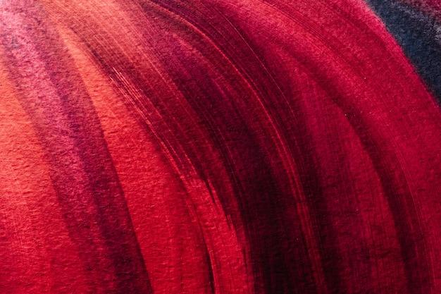 Sfondo astratto artistico in tonalità rosse