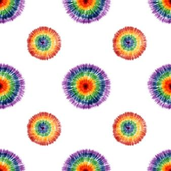 Artistico tessuto tie dye motivo a strisce sfondo inchiostro bohemien spirale