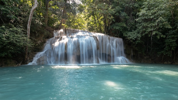 Asia sfondo bella bellezza blu cascata ambiente era wan caduta esotica