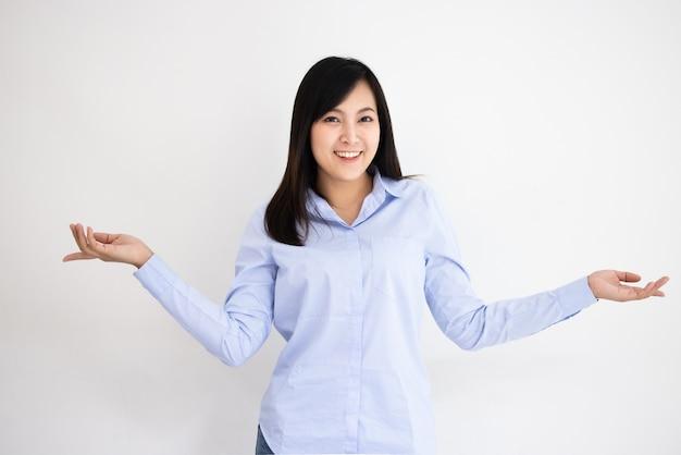 Bella giovane donna asiatica