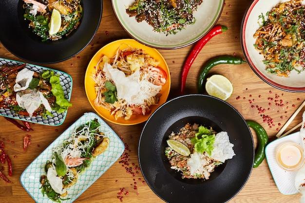 Composizione degli alimenti asiatici