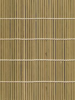 Priorità bassa di struttura della stuoia di bambù chiaro asiatico