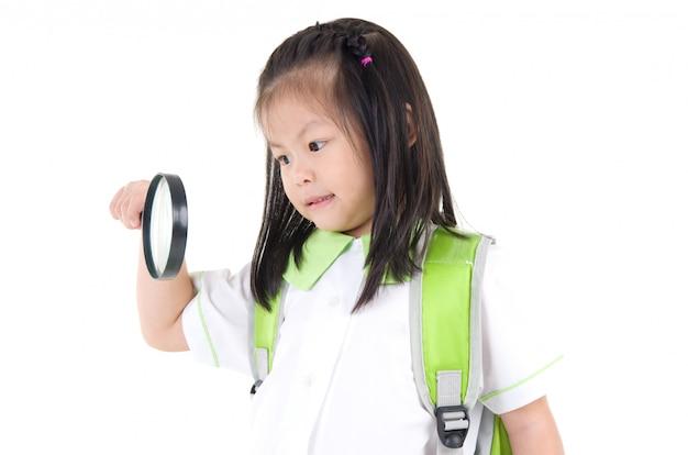 Ragazza scuola asiatica