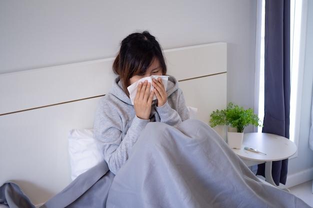 Le donne asiatiche sono ammalate.