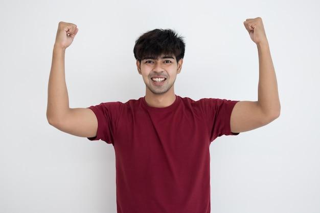 Sorriso di giovane uomo bello asiatico