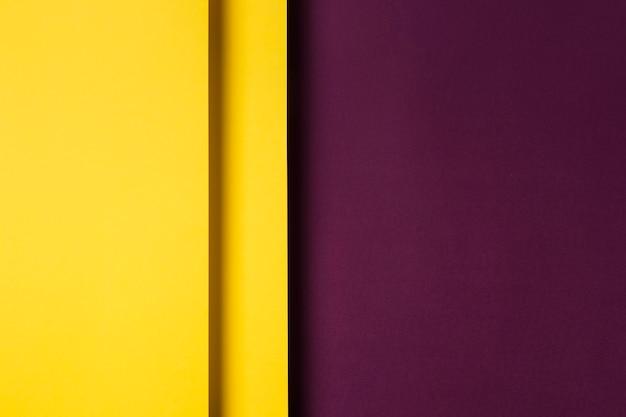 Assortimento di fogli di carta colorata