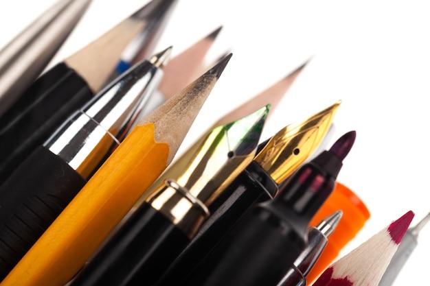 Assortimento di cancelleria d'arte per pittori