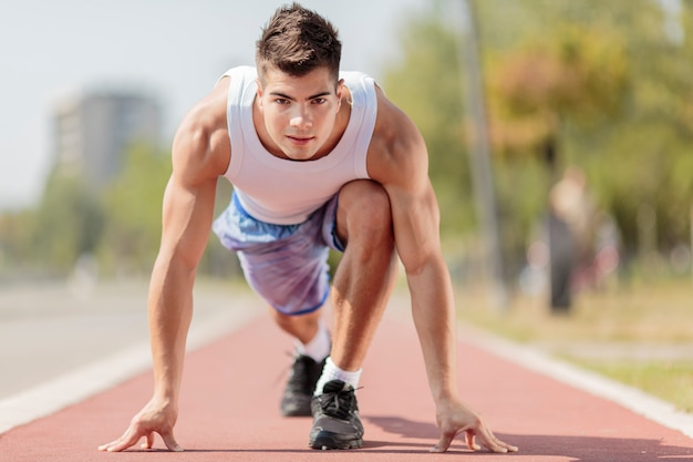 Uomo atletico