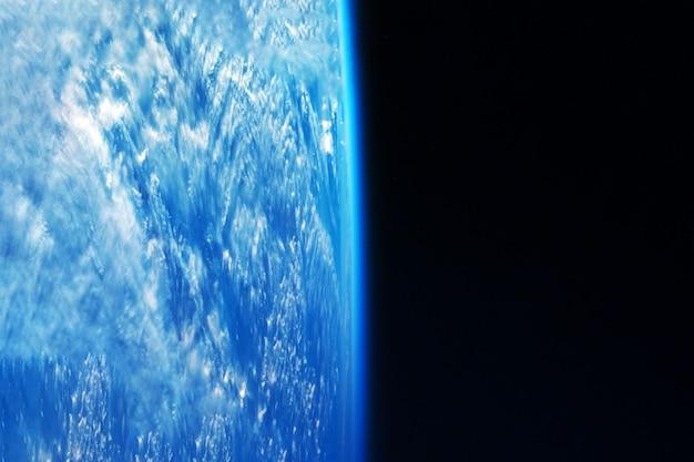 Atmosfera della terra. gli elementi di questa immagine sono stati forniti dalla nasa. foto di alta qualità