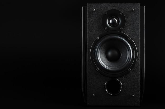 Sistema di altoparlanti audio concetto minimalista