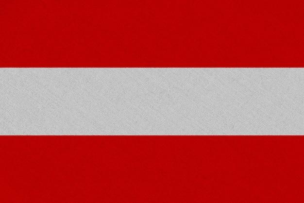 Bandiera austriaca in tessuto