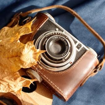 Autunno e macchina fotografica