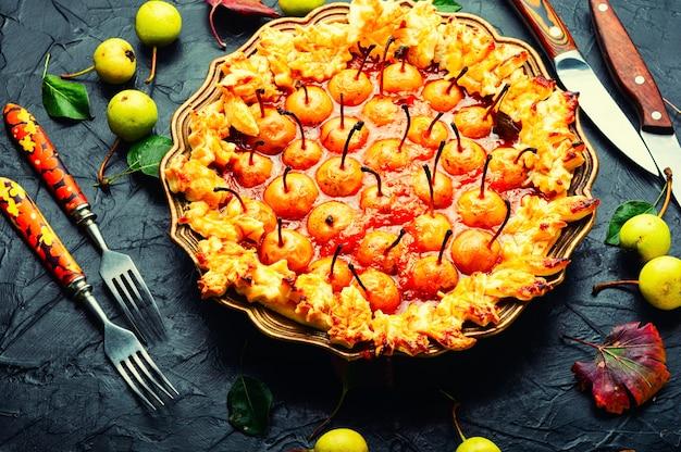 Torta autunnale con pere