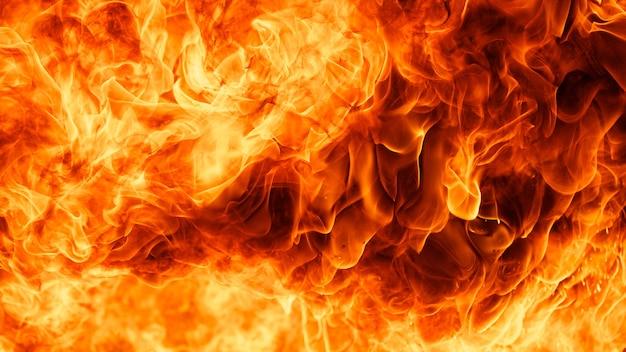 Fantastico sfondo di trama di fiamma di fuoco