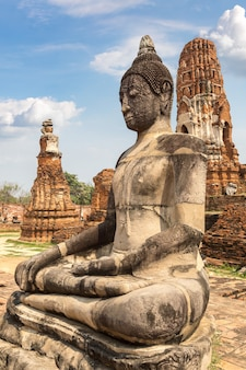 Parco storico di ayutthaya a ayutthaya, thailandia