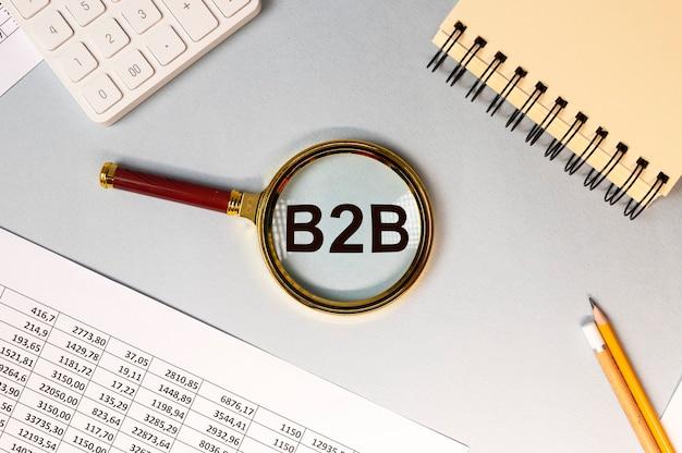 Iscrizione acronimo b2b