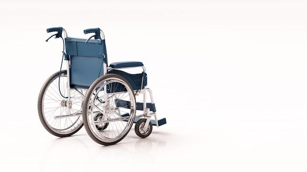Sfondo di sedia a rotelle posteriore