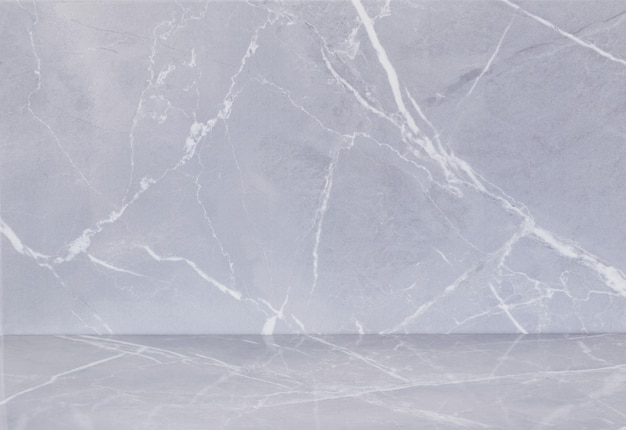 Sfondo di piastrelle di ceramica con motivo di marmo grigio