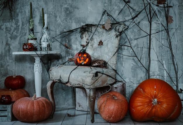 Decorazioni di sfondo per la celebrazione di halloween