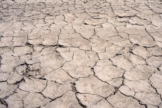 Sfondo di terreno asciutto con crepe utah usa