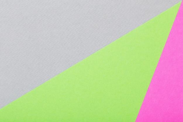 Sfondo da fogli colorati di cartone vista dall'alto