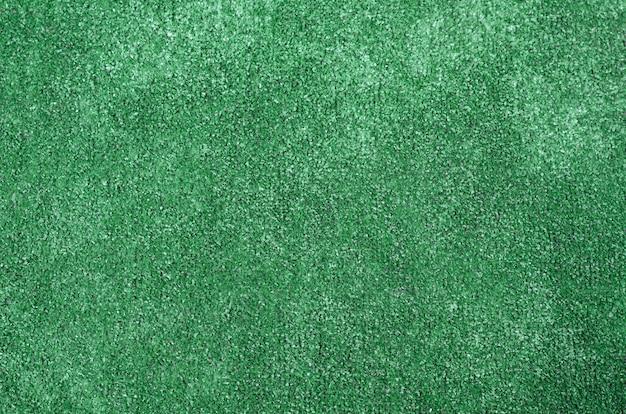 Sfondo di erba artificiale verde