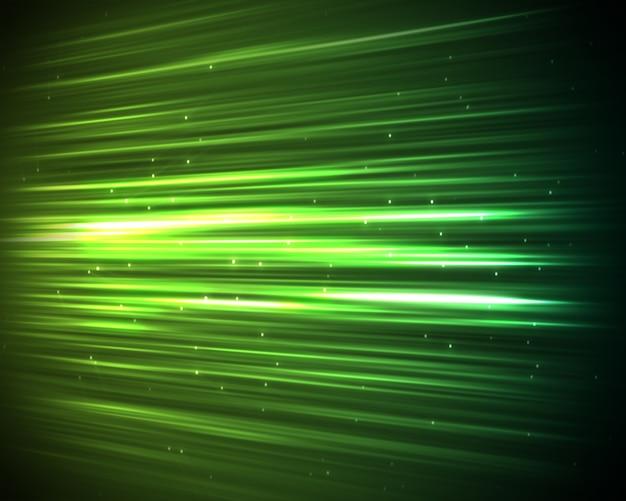 Sfondo di linee verdi e punti