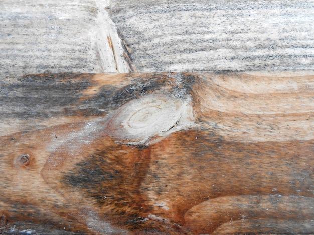 Sfondo orizzontale stecca di legno grigio nodi texture naturali striature