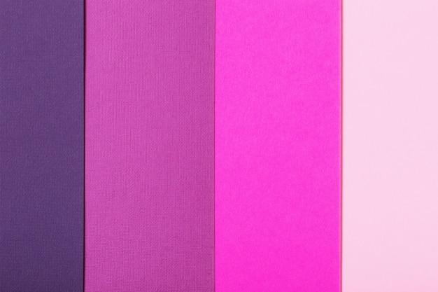 Sfondo di fogli colorati di cartone con trama