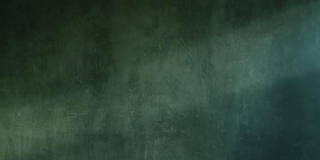 Sullo sfondo di un vecchio muro di cemento verde grunge