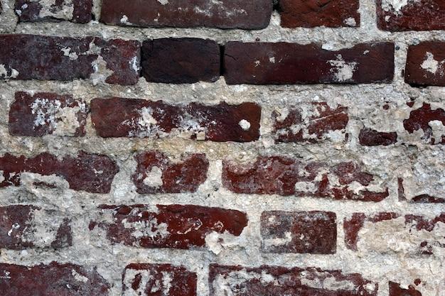 Sfondo di vecchi mattoni rossi