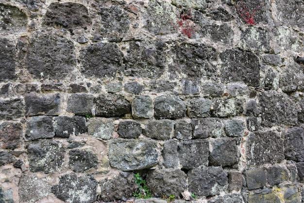 Sfondo del vecchio muro di pietra