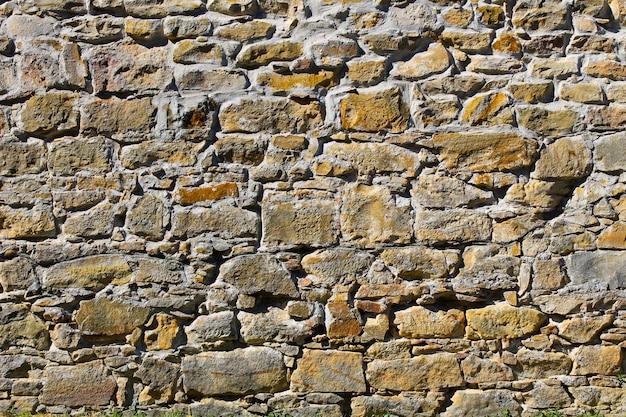 Sfondo di un vecchio muro di pietra