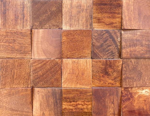 Sfondo, piastrelle quadrate decorative in parquet.