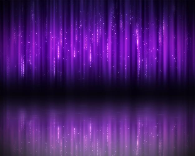 Sfondo di linee viola