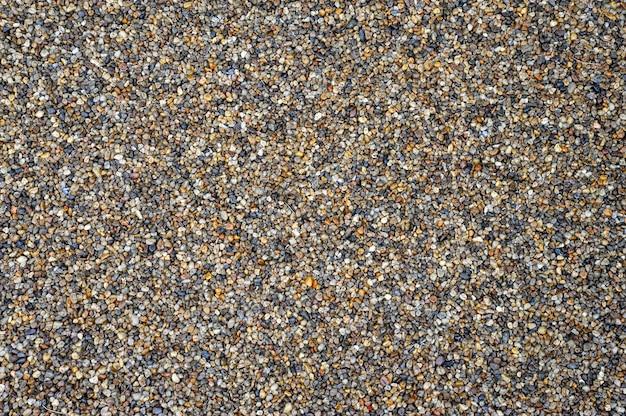 Sfondo di piccoli ciottoli colore mosaico