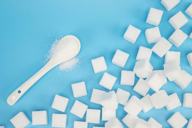 Sfondo di zollette di zucchero