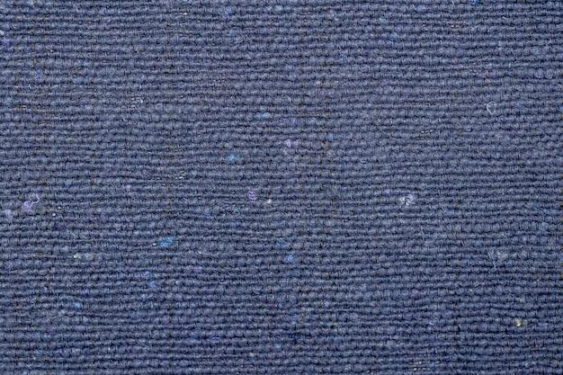 Tessuto rustico blu di sfondo e trama