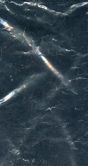 Trama di sfondo di polietilene scuro