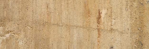 Texture di sfondo dalla superficie liscia della sabbia