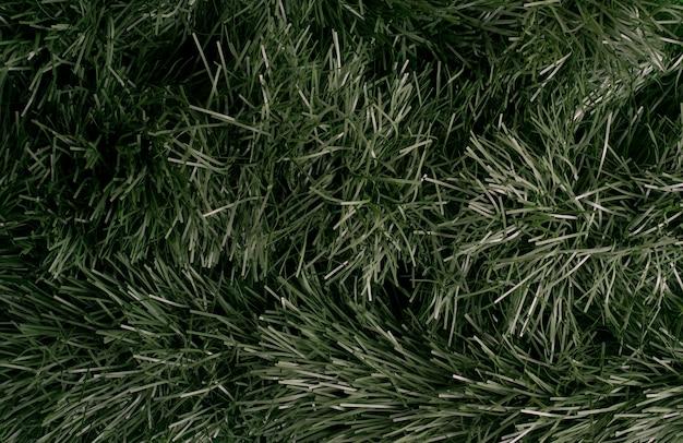 Texture di sfondo di foglie naturali in verde scuro