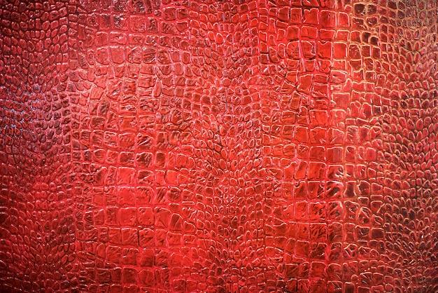 Texture di sfondo della pelle di serpente rosso
