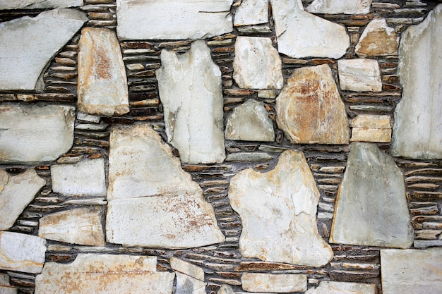 Texture di sfondo del muro di pietra