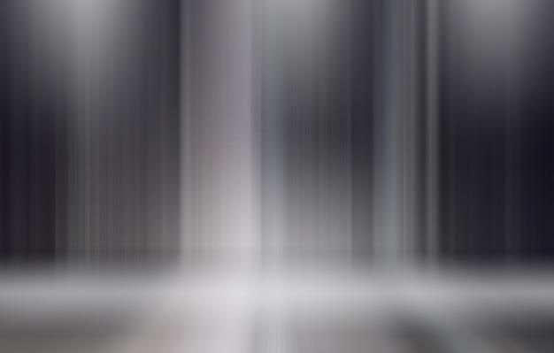 Linee astratte verticali di sfondo sul palco sotto i riflettori