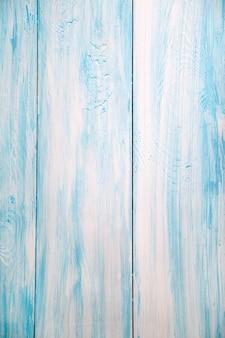 Sfondo di assi di legno disposti verticalmente di colore blu