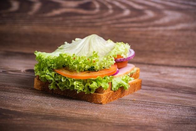 Panino pancetta e verdure