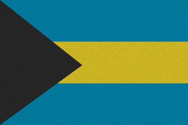 Bandiera tessuto bahamas