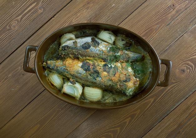 """Branzino al forno - fã""""â±rã""""â±nda levrek tarifi.cucina turca."""