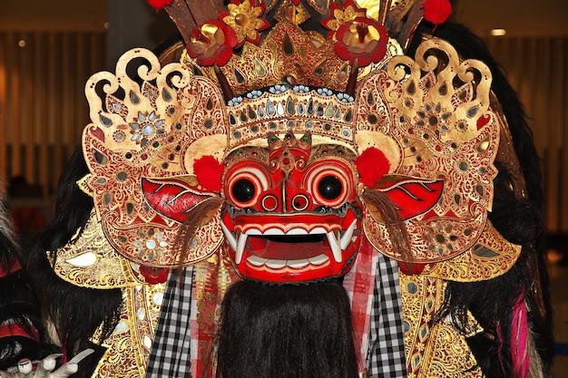La maschera in stile balinese, indonesia